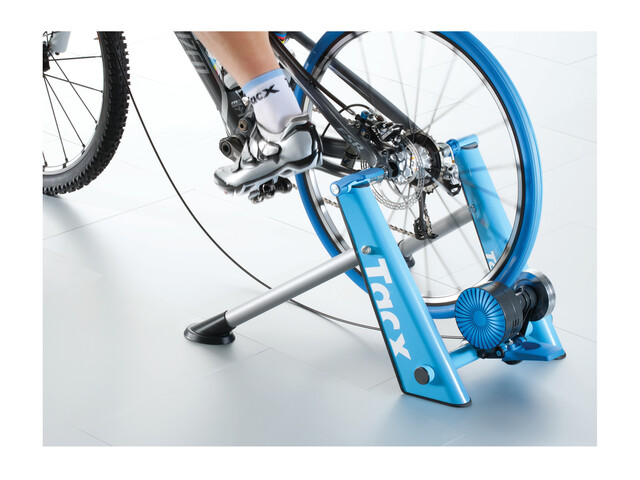 Tacx Cycletrainer Blue Matic Cycle Trainer grey/blue